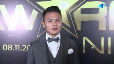 Quang Hải cực khiêm tốn sau khi nhận giải Cầu thủ xuất sắc nhất Đông Nam Á