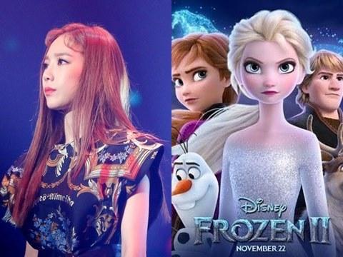 ''Vocal Queen'' TAEYEON khoe giọng cao vút khi hát nhạc phim Frozen 2