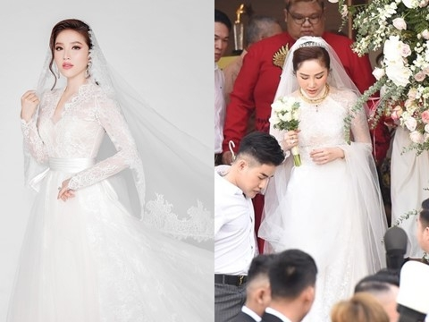 Đám cưới bí mật của Bảo Thy: Công chúa bong bóng đã đội vương miện cô dâu!