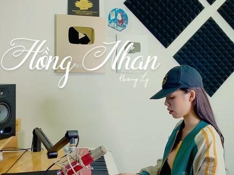 Chán hát hit mới, Hương Ly cover lại hit ''Hồng Nhan''