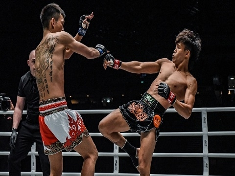 Duy Nhất thắng knock-out nhà vô địch Muay Nhật Bản