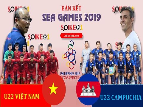 Nhận định bán kết U22 Việt Nam - U22 Campuchia