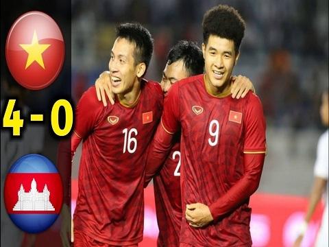 U22 Việt Nam 4-0 U22 Campuchia: Đức Chinh lập hat-trick, Việt Nam thẳng tiến vào chung kết