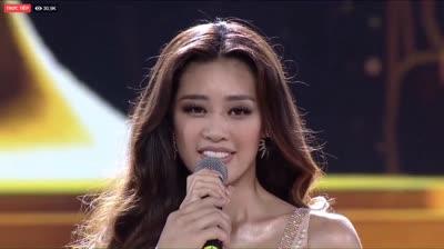 Ngắm màn diễn bikini siêu đẹp của tân HHHV Khánh Vân