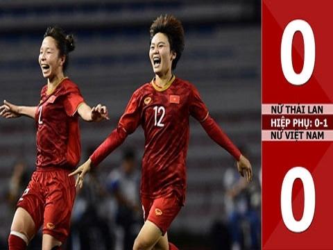 Nữ Thái Lan 0-0 (hiệp phụ: 0-1) Nữ Việt Nam: Việt Nam lần thứ 6 giành HCV SEA Games