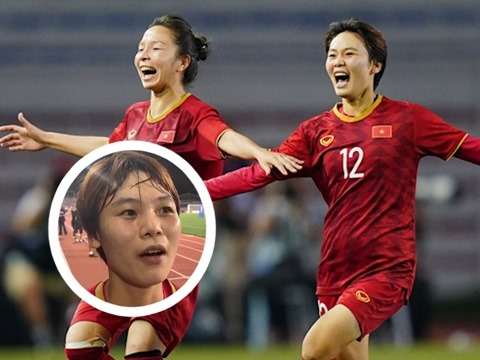 Hải Yến bật khóc nói về bàn thắng giúp tuyển nữ Việt Nam vô địch SEA Games