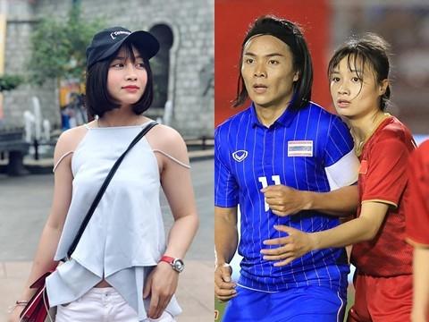 ''Hoa hậu'' tuyển bóng đá nữ Việt Nam gây sốt sau chung kết Sea Game