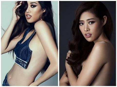 Lộ bộ ảnh bán nude táo bạo của Hoa hậu Hoàn vũ Khánh Vân