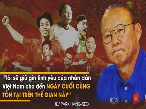 Những chia sẻ xúc động đến phát khóc của HLV Park Hang Seo