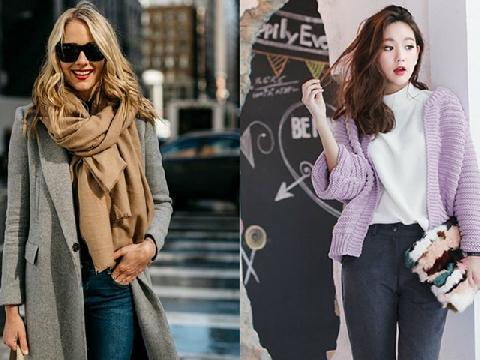 Mẫu áo khoác hot nhất mùa đông năm nay