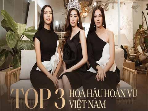 Top 3 Hoa hậu Hoàn vũ lần đầu chia sẻ cảm xúc hậu đăng quang