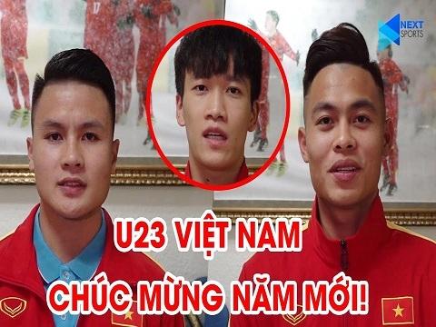 1001 lời chúc mừng năm mới 2020 đáng yêu của U23 Việt Nam