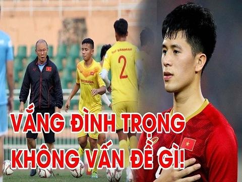 Thiếu Đình Trọng không phải vấn đề với HLV Park tại VCK U23 châu Á 2020