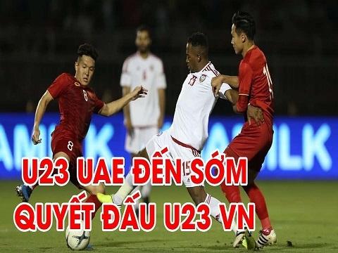 U23 UAE đến Thái Lan sớm, sẵn sàng quyết đấu U23 Việt Nam
