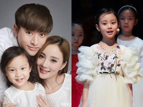 Điềm Hinh sốt Weibo vì quá xinh và giống bố Giả Nãi Lượng
