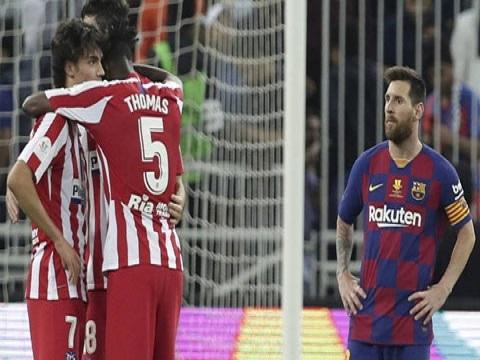 Barca 2-3 Atletico: Messi bất lực nhìn VAR giúp Atletico vào chung kết gặp Real