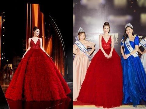 Ngọc Trinh bị phạt tại chỗ vì tổ chức thi Hoa hậu chui, dính tin đồn đập hộp hàng fake
