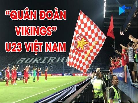 U23 VN tri ân NHM sau trận U23 UAE với màn vỗ tay Vikings kinh điển