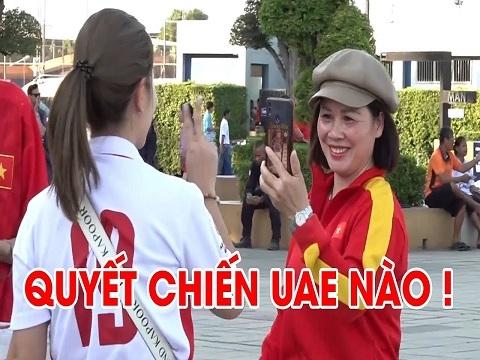 Mẹ Quang Hải và Thành Chung tiếp lửa cho U23 Việt Nam