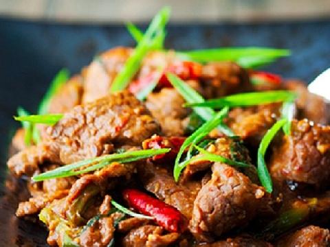 Biến tấu thịt bò xào kiểu Mông Cổ