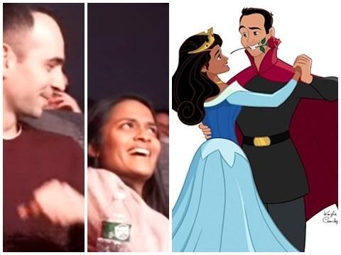 Chàng trai sửa kết phim Disney để cầu hôn bạn gái thật hoành tráng