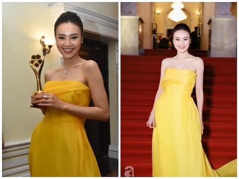 Ninh Dương Lan Ngọc thắng đậm tại giải Mai Vàng 2019