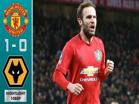 M.U 1-0 Wolves: Mata lập công, Quỷ đỏ vất vả lọt vào vòng 4 FA Cup