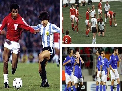 Những màn 'đi đêm' loại đối thủ trong lịch sử bóng đá