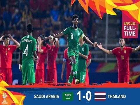 U23 Thái Lan 0-1 U23 Ả Rập Xê Út: Chủ nhà dừng bước tại tứ kết