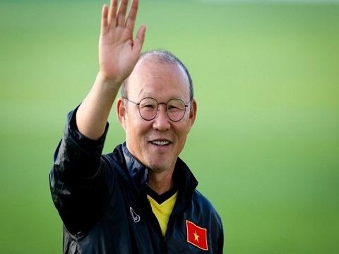 HLV Park Hang Seo gửi lời chúc mừng năm mới bằng tiếng Việt tới NHM Việt Nam