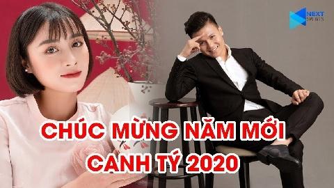 Quang Hải, Hoàng Thị Loan... chúc mừng năm mới Tết Canh Tý 2020 tới NHM Việt Nam