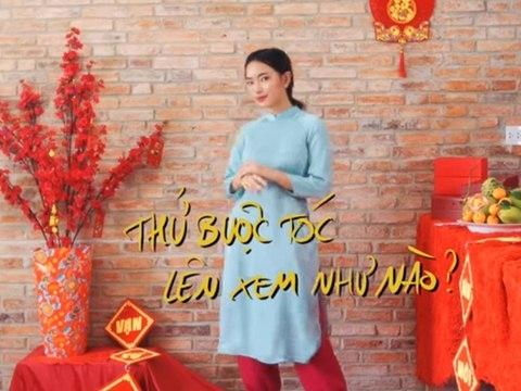 Châu Bùi bật mí 5 cách mặc áo dài du xuân chất lừ cực xinh