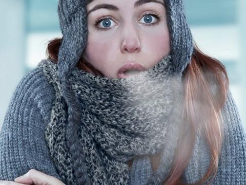 Ngừng run rẩy để sống sót giữa trời tuyết lạnh