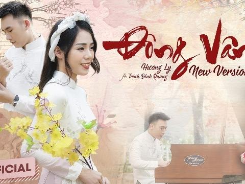 Thánh nữ cover Hương Ly khăn vấn áo dài, hát ''Đông Vân'' cực chất bên soái ca