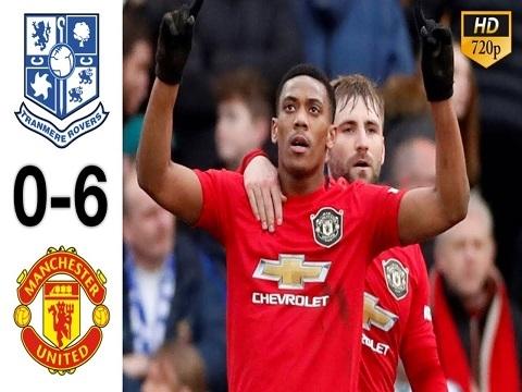 Tranmere 0-6 M.U: Maguire và Martial lập siêu phẩm, M.U đại thắng '6 sao'