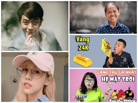 Top Youtuber Việt Nam có thiu nhập hàng triệu đô
