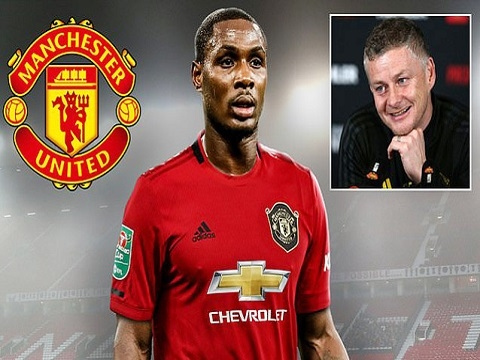 Man Utd mượn tiền đạo Odion Ighalo từ Trung Quốc