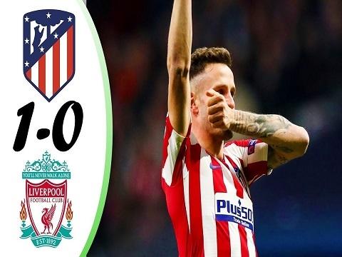 Atletico Madrid 1-0 Liverpool: Đương kim vô địch vấp ngã