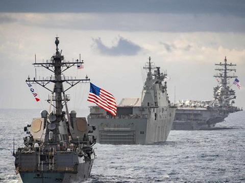 Tròn mắt với hạm đội hải quân siêu hiện đại của Mỹ