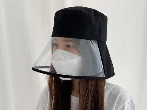 Cận cảnh chiếc mũ phòng virus cháy hàng tại Hàn Quốc