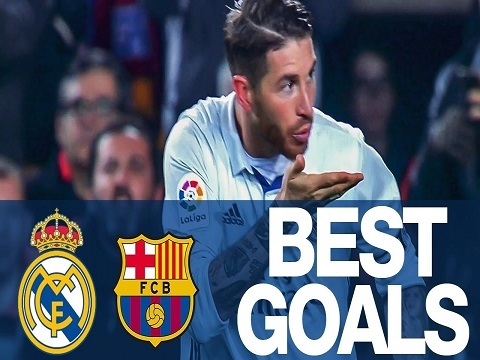 Các bàn thắng đẹp nhất của Real Madrid ghi vào lưới Barcelona
