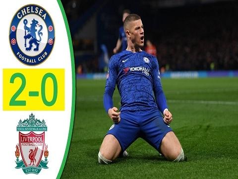 Chelsea 2-0 Liverpool: The Kop bị đá văng khỏi FA Cup