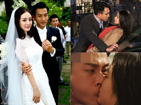 Chồng cũ Dương Mịch và những cảnh cưỡng hôn bạo lực với bạn diễn