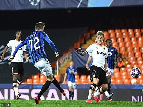Valencia 3-4 Atalanta (Vòng 1/8 Champions League)