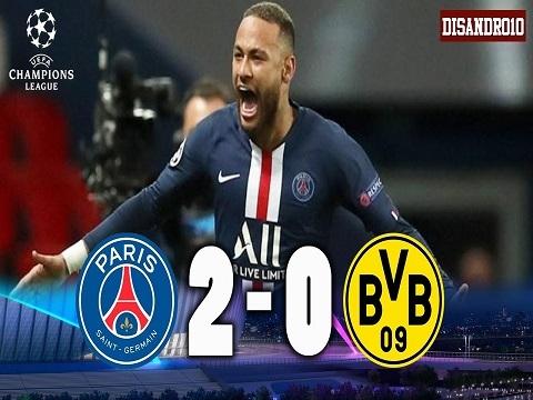 PSG 2-0 Dortmund: Cứu tinh Neymar