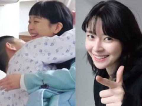 ''Nữ phụ Itaewon'' nhí nhảnh tung clip hậu trường Park Seo Joon ôm Kim Da Mi