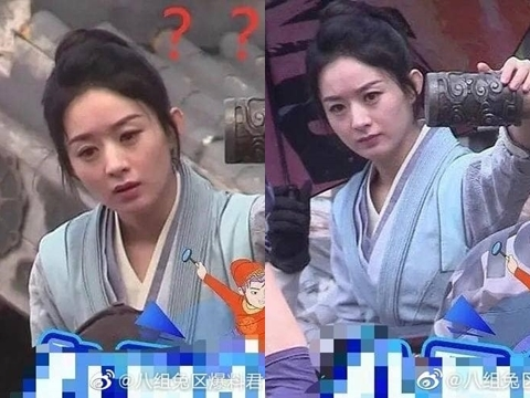 Triệu Lệ Dĩnh bị bóc mẽ nhan sắc già nua khi không photoshop