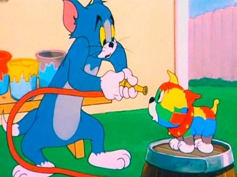 Xả stress cuối tuần cùng 'Tom Và Jerry: Tắm Cho Chó Con'