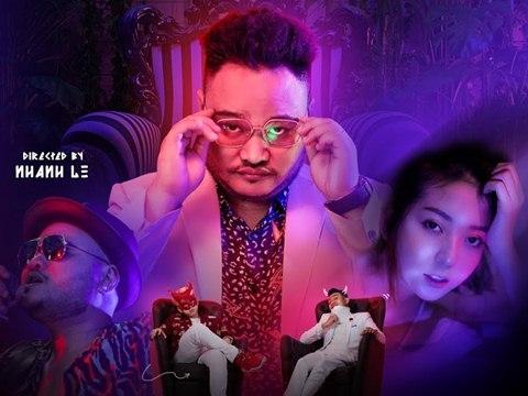 ''Đại ca Vinh Râu'' bị người đẹp tát sấp mặt trong MV của Blackbi