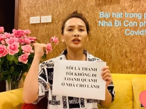 Bảo Thanh hát live nhạc phim 'Về nhà đi con' phiên bản Covid